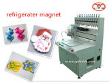 Automatischer Muti Farben-Kühlraum-Magnet, der Maschine herstellt