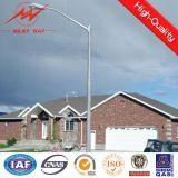 8m Hot DIP Galvanized Street Light Pole mit Single Arm