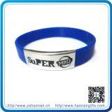 Förderndes Gift Silicon Bracelet mit Printing Qr Code (HN-WD-036)