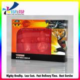 Коробка сливк стороны изготовления Shenzhen косметическая бумажная с окном PVC