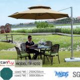Grandi parasole ed ombrello del parasole della spiaggia di protezione registrabile di Sun