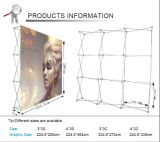 Gancho & Loop Fabric Banner Stand Advertizing Pop acima Display Stands (LT-09L2-A)