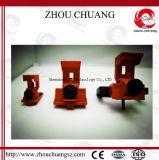 Abrazadera-en utilizado en el tipo medio cierre moldeado de los cortacircuítos del caso