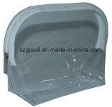 明確な透過は旅行洗面用品の化粧品の袋を防水する