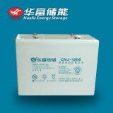 батарея геля хранения 2V 1200ah солнечная