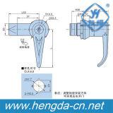 Industriale la serratura elettrica della maniglia dell'oscillazione di rossoreare del comitato del Governo della pressofusione (YH9686)