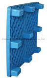 Doppeltes/sondern gegenübergestellte Plastikladeplatte, schweres Ladeplatten-Spritzen aus