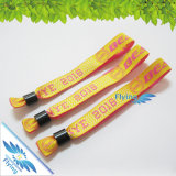 Festival Woven Fabric Wristband für Event From Manufacturer