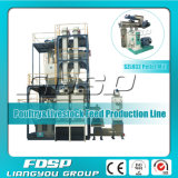 2-4t/H Complete Poultry Feed Mill Plant com CE Approved