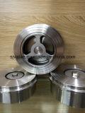 ステンレス鋼のウエファーの小切手弁の高品質