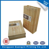 Kundenspezifisches Wood Texture Paper Tea Packaging Box und Bag