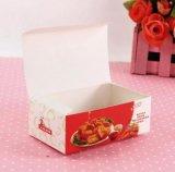 L'impression respectueuse de l'environnement emportent le cadre de papier/caisse d'emballage pour le poulet frit