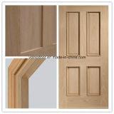 Porte neuve en bois solide de modèle/porte en bois évaluée d'incendie