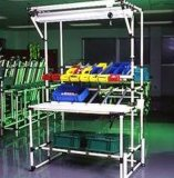 Tubo revestido plástico de la estación de trabajo y de Beanch (KJ2807A)