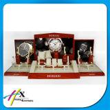 大きい容量の腕時計のためのテーブルトップの木の陳列台