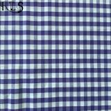 Färbte Baumwollpopelin-gesponnenes Garn 100% Gewebe für Hemden/Kleid Rls50-2po
