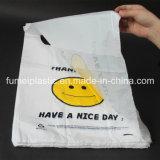 Grazie sacchetti di acquisto di plastica della maglietta