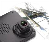 Espejo de Rearview dual del coche de la cámara de la rociada de la lente HD 1080P DVR168