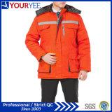 Uniforme calda del lavoro di inverno poco costoso del Workwear con nastro adesivo riflettente (YMU122)