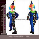 Costume d'enfants de gosse d'usager de procès de clown de Veille de la toussaint de carnaval (TCQ0056)