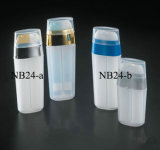 Nb24ローションのびんの二重管の空気のないびん