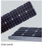 10W -50W Solaire Intégrer Éclairage Public avec LG LED Chips et Infrarouge du Corps du Capteur / Micro-ondes à Inductionpublic