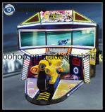 Máquina de fichas del patio de la motocicleta de competición del simulador de interior del coche