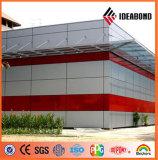 El panel compuesto de aluminio incombustible de Ideabond al aire libre y de interior