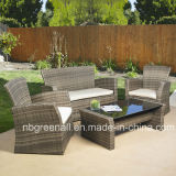 Rattan High Back Sofa Chair