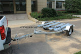 Three Rails를 가진 최신 Dipped Galvanized Motorcycle Trailer