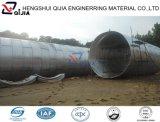 Gewölbter Metallrohr-Abzugskanal von der Fabrik 9 Jahre