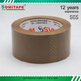 Bande transparente du ruban adhésif Use/BOPP d'Aucun-Résidu pour l'emballage