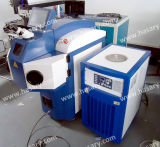 Máquina de la soldadura por puntos de laser de la joyería de la fábrica para el oro/la plata/el platino