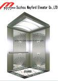 Лифт пассажира нержавеющей стали зеркала с скоростью 1.0m/S