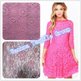 2016熱い販売の服のレースのためのナイロンかぎ針編みのレース