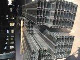 Decking de acero Yx65-185-555 del suelo de acero de la hoja galvanizada del Decking/del suelo compuesto
