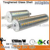 China buena vendiendo el reemplazo del halógeno LED del LED R7s 150W con ERP LED R7s 150W