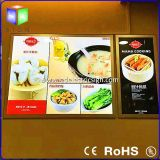 A0-A4 Light Box con il LED Photo Frame per Wall Mounted Sign