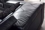Sofa en cuir sectionnel commercial moderne pour la salle de séjour (HC3011)