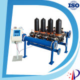 Constructeur hydraulique exogène de filtre d'eau de disque de remuement automatique et manuel