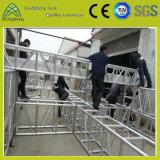 Armature en aluminium de défilé de mode d'armature de performance de matériel d'étape