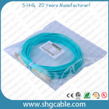 Sc - FC Sm Duplex Armored Fiber Optic Patch Cord