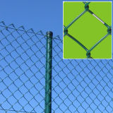 Sicherheits-Kettenlink-Zaun-Maschendraht-Garten-Filetarbeit