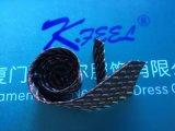 Relation étroite personnalisée de polyester avec le plein logo pour le marché de Dubaï