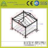 Система ферменной конструкции штендеров алюминия 4 с крышей