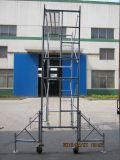 건축을%s 안전한 세륨 SGS에 의하여 증명되는 구르는 탑 비계
