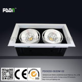 DEL COB Recessed Ceiling Light avec 2 Chips (PD-C0002)