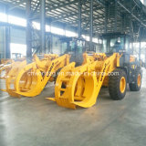 3 Tons Capacity를 가진 나무 또는 Grass Grapple Loader