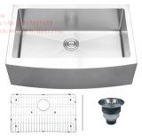 Edelstahl-Schutzblech-Vorderseite-einzelne Filterglocke-handgemachte Küche-Wanne mit CSA Ceritification