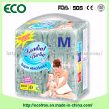 Der Kategorie B Qualitäts-China-schläfrige Baby-Windel mit elastischem Bund